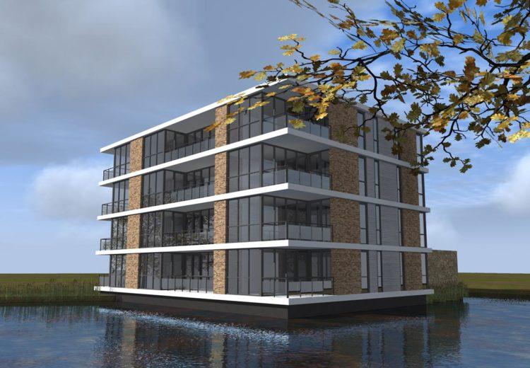 Guldenroede Halsteren appartementencomplex